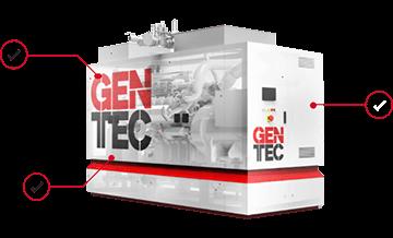 Kogenerační jednotak GENTEC